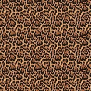 Papel de Parede Animal Print Laranja e Preto