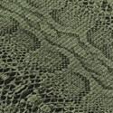 Papel de Parede Animal Print Verde e Preto