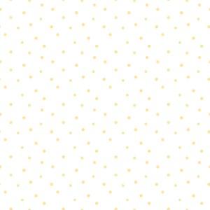 Papel de Parede Bolinhas Emotion Amarelo