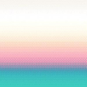 Papel de Parede Degradê Pixel Azul e Vermelho