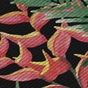 Papel de Parede Paisagem tropical Verde e Preto