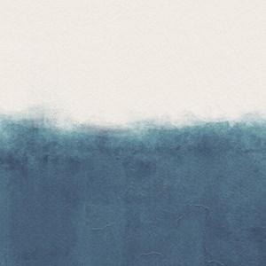 Papel de Parede Parede Marrocos Branco e Azul Marinho