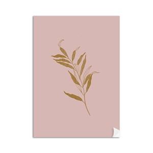 Poster Borboletas Rosa e Laranja I