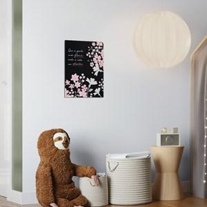 Poster Clássico Moderno Frases II Rosa e Cinza