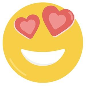 Sticker Emotion Amarelo VI