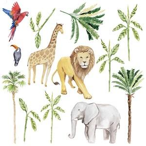 Sticker Safari Verde